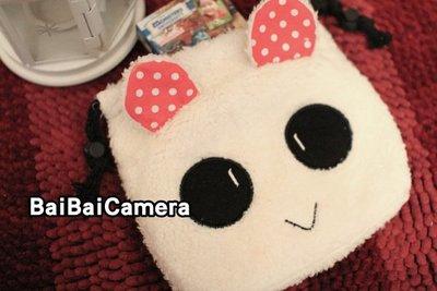 [bai]  紅耳熊 拍立得相機包 另...