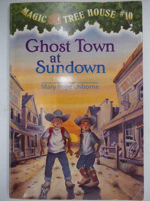 【月界二手書】Ghost Town at Sundown_Mary Pope Osborne_神奇樹屋〖少年童書〗CJO