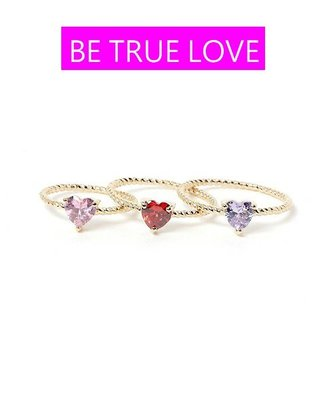 515009 日本牌子TRIPLE HEART RING