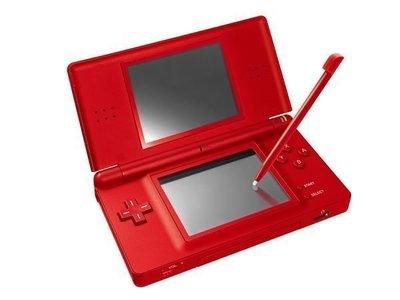 【全新主機】任天堂 Nintendo DSL NDSL 紅色主機 Passion Red(台灣公司貨)【台中恐龍電玩】