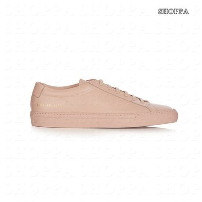 【SHOPPA】COMMON PROJECTS  ORIGINAL ACHILLES LEATHER  休閒鞋 粉