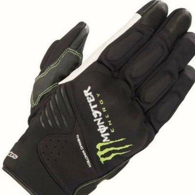 魔爪 贊助商 yamaha alpinestars force monster glove 手套 爪子 指節護具 皮質掌面 羅西小舖  Honda ktm