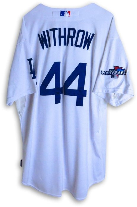 MLB 2013 Dodgers #44 Withrow Team Issue Play-off Jersey Sz48