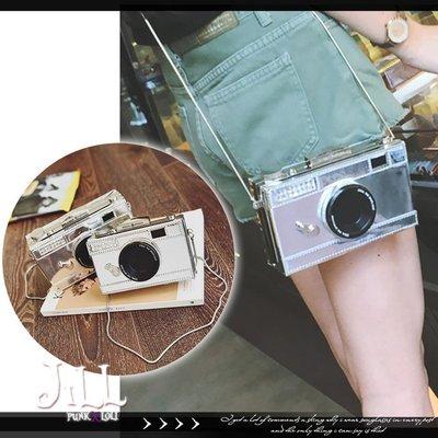 Oo吉兒oO日韓街頭少女潮流時尚 可愛立體復古相機造型單肩包/斜肩包【J2G376】