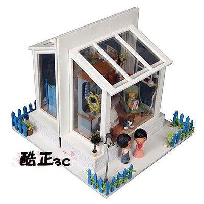 【酷正3C】中型DIY小木屋 手工材料包 袖珍屋 娃娃屋 拼裝模型屋 田園小屋 田歸 回歸田園