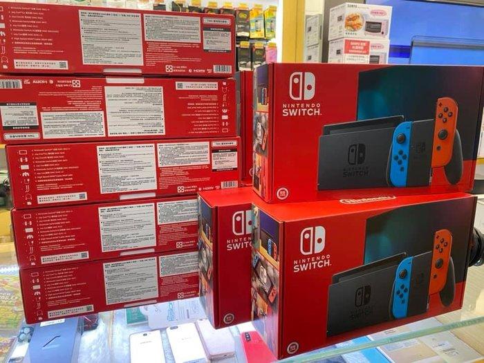 奇機通訊-台灣公司貨 任天堂 SWITCH主機 含2片超級瑪莉遊戲 現貨