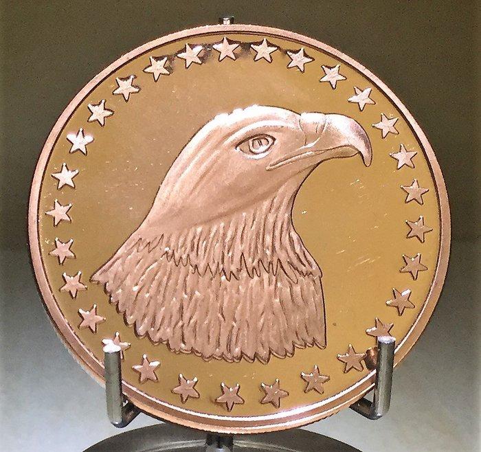 Eagle Head 白頭鷹純銅幣 (1 oz)