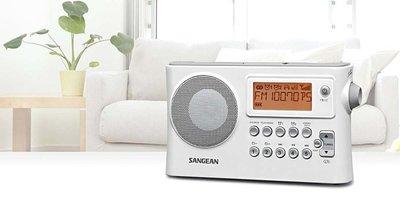 SANGEAN山進二波段 調頻 /  調幅 /  USB數位式時鐘收音機PR-D14USB公司貨送耳機(有實體店面) 台中市