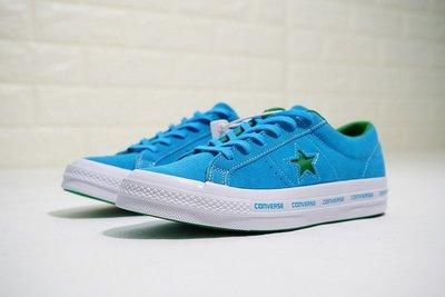 ☆LION販殼☆Converse One Star Ox Pinstripe 百搭 硫化 板鞋 天藍 經典 翻毛