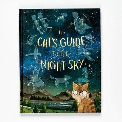 貓貓夜空觀星指南 英文原版 A Cat's Guide to the Night Sky 精裝 兒童科普繪本 6-12歲