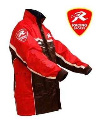 (天德牌竹苗旗艦店)新R5側開式背包版,兩件式風雨衣