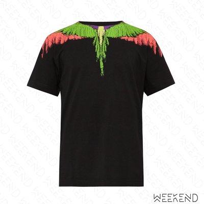 【WEEKEND】 MARCELO BURLON Glitch Wings 翅膀 短袖 T恤 上衣 新配色 黑色