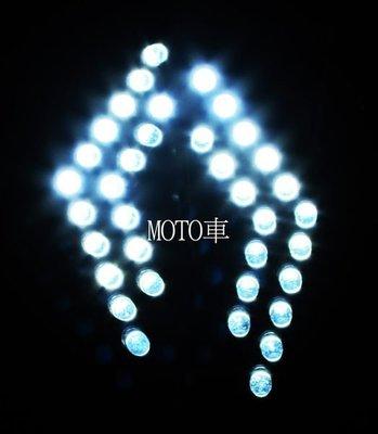 《MOTO車》黑之翼 高品質 MANY100/MANY110 專用 高亮度 LED 前方向燈