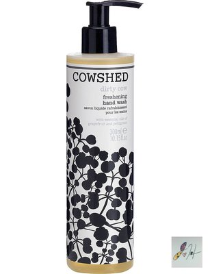 [要預購] 英國代購 英國COWSHED Dirty Cow freshening hand wash 300ml洗手乳