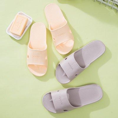 家居鞋 棉鞋春夏季涼拖鞋女室內情侶男家居家用簡約輕便防滑軟底洗澡浴室拖鞋