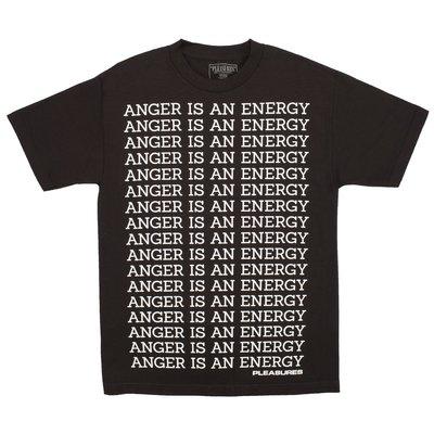 PLEASURES ANGER T-SHIRT 短袖 黑色 P18P101001