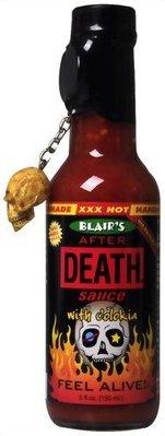 日本 死亡辣醬 布雷爾猝死辣醬 骷顱頭 辣椒醬 Blair's Death Sauce 整人 調味料 After