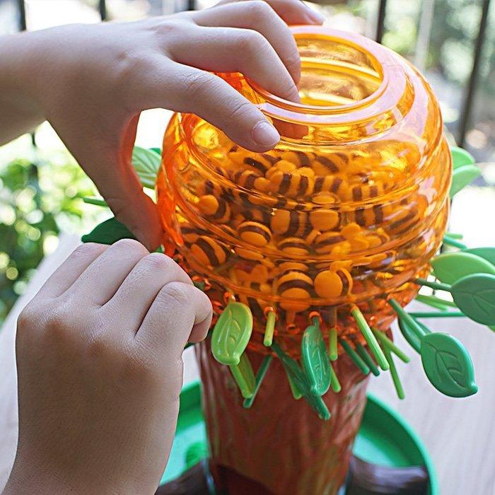 蜜蜂樹 親子互動家庭趣味桌遊 兒童專注力訓練桌面益智玩具_☆優購好SoGood☆