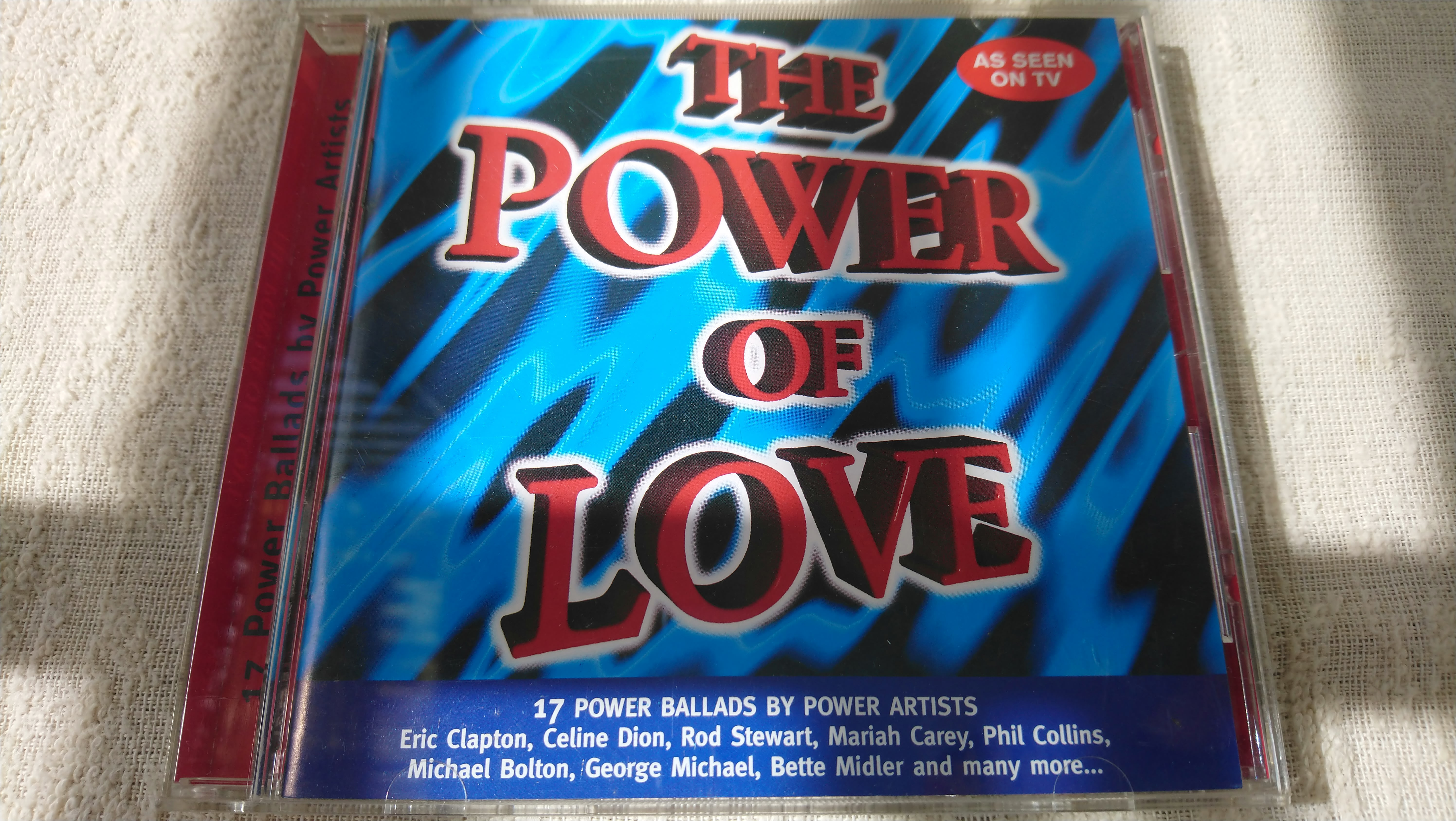 CD ,THE POWER OF LOVE