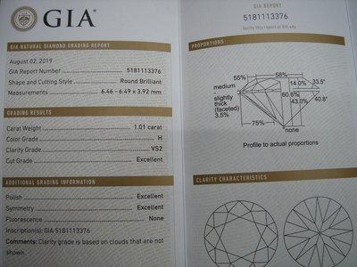 【婚戒 求婚鑽戒 】一克拉 H VS2 GIA鑽石價格GIA鑽石價格GIA鑽石價格GIA鑽石價格GIA鑽石價格