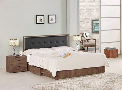 ☆[新荷手作] 20C138 ☆床片型5尺床/6尺雙人抽屜床組(2件組-可拆買) 床架