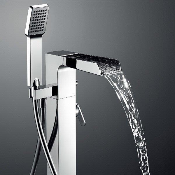 《101衛浴精品》BETTOR 瀑布出水 泉瀑 獨立式 浴缸龍頭 FH 8185-D67 歐洲頂級陶瓷閥芯【免運費】