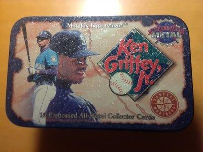 Ken Griffey Jr. 10 embossed all-metal collector cards