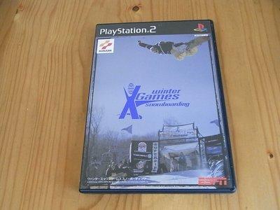 【小蕙館】PS2~ ESPN Xgames Snowboarding 冬季運動會 滑雪板高手 (純日版)
