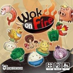 (海山桌遊城) 正版桌遊 大鍋炒 Wok on Fire 繁體中文版 國產遊戲