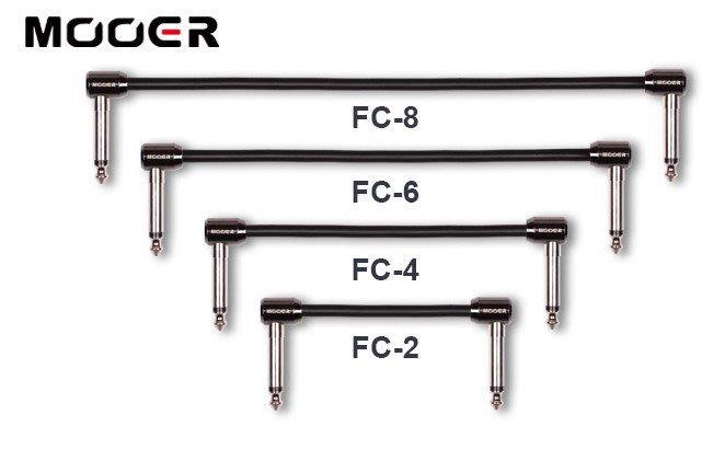 ☆ 唐尼樂器︵☆ Mooer FC 系列5公分/10公分/15公分/20公分電吉他/電貝斯 Bass 效果器短導線