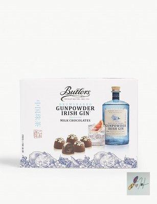 [要預購] 英國代購 愛爾蘭BUTLERS 杜松子酒牛奶巧克力松露 100g