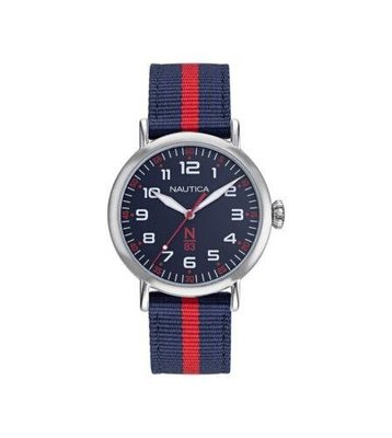Nautica 中性手錶 NAPWLF922 Wakeland 40mm 藍色錶盤 尼龍手錶