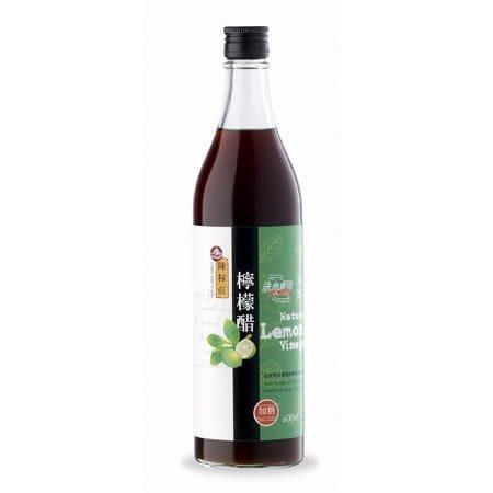 橡樹街3號 陳稼莊 檸檬醋 600ml/瓶【A07021】(不適宜超取)