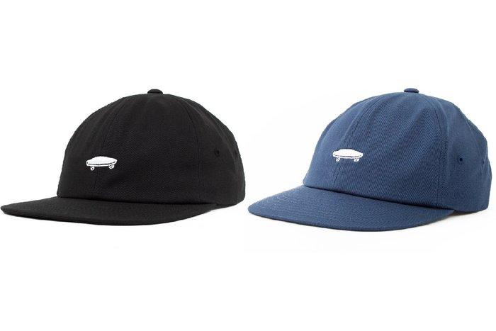 { POISON } VANS SALTON II JOCKEY POLO HAT 黑海軍藍 小滑板刺繡老帽 後扣棒球帽