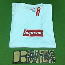 【OB海外連線】SUPREME 20th Anniversary Box Logo 20週年 經典 短袖 白 新店特價中