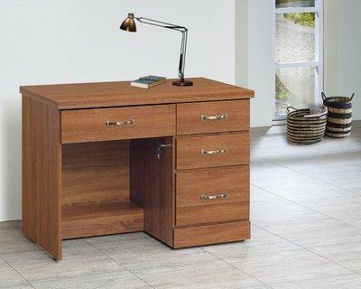 【浪漫滿屋家具】(Gp)556-4 柚木3.2尺書桌
