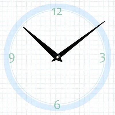 【鐘點站】T092070 SUN機芯專用 簡約指針 / 分針92mm 時針70mm / DIY 時鐘 掛鐘 鐘針