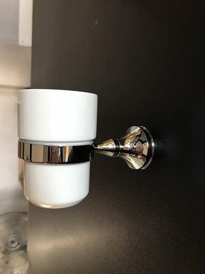 漱口杯架  浴室整修DIY 銅配件   毛巾架  置物架  銅漱口杯架   年度出清  外銷精品