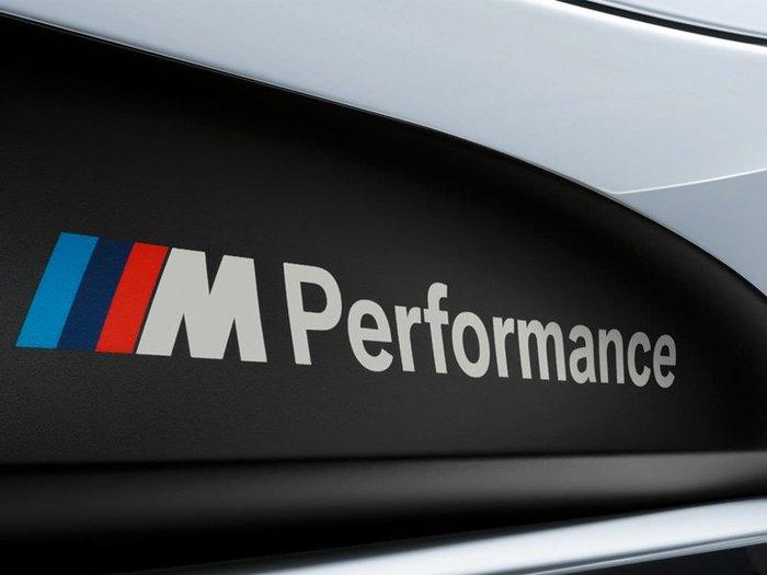 【樂駒】BMW 原廠 F30 F31 M Performance 側裙 貼紙 改裝 套件  外觀 空力