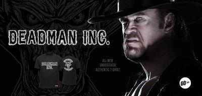 [美國瘋潮]正版 WWE Undertaker Vengeance Unearthed Tee 死神復仇最新款衣服M特價