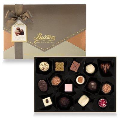 [要預購] 英國代購 愛爾蘭BUTLERS 白金綜合巧克力禮盒 210g