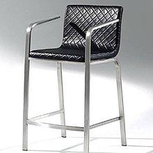 【新北大】✪ S704-2 M920D吧椅/造型椅(黑皮)-18購