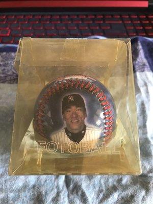MLB 美國職棒 紐約洋基隊 松井秀喜 紀念球 肖像球 LOGO球 盒裝有損