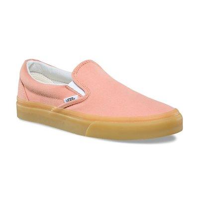 CHIEF' VANS 美版 SLIP-ON GUM 粉紅色 帆布 懶人鞋 橡膠底 透明膠底 sz4.5~7.5 女