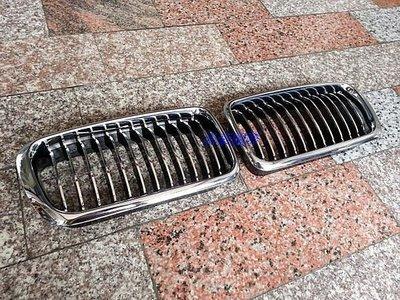 BMW~7系列-E38-95~02 電電黑 水箱罩/一組