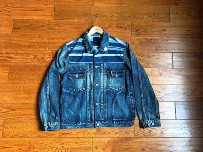 【c select】特價 Visvim 101 JKT DAMAGED 天然染 古布 條紋 夾克 外套 wtaps