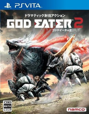 【二手遊戲】PSV 噬神戰士 2 GOD EATER 2 日文版【台中恐龍電玩】