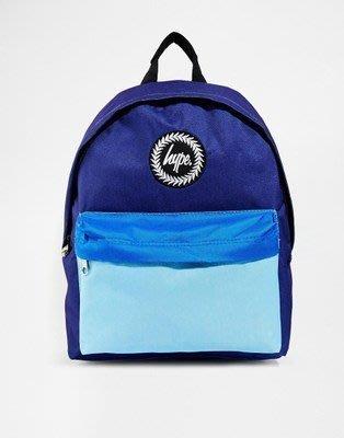 英國街頭潮流 正品 Hype Backpack  Luca Mala 藍色 拼色 後背包 賣場另有多色可參考