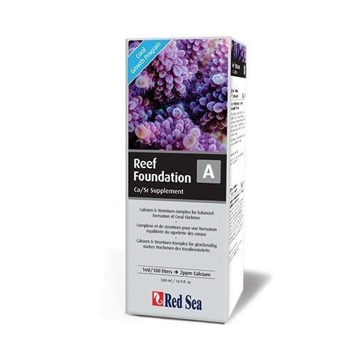 以色列Red Sea紅海 珊瑚鈣鍶鋇添加劑500ml R22013 海水添加劑系列