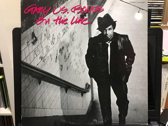GARY U.S. BONDS/ON THE LINE 西洋 黑膠唱片